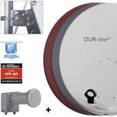 DUR-line MDA 80 + UK 102 LNB - Einkabel Set
