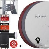 DUR-line MDA 80 + UK 104 LNB - Einkabel Set