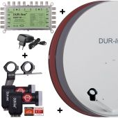 DUR-line MDA 90 + MS9/8eco NT + LNB
