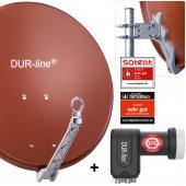 DUR-line Select 60 R + +Ultra Quad - 4 Teilnehmer Set rot