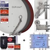 DUR-line Select 75 + Multischalter Blue eco + LNB