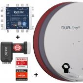DUR-line MDA 80 + Multischalter Blue eco + LNB