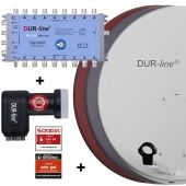 DUR-line MDA 80 + Multischalter Blue eco + LNB