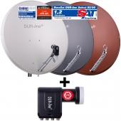 DUR-line Select 85/90 + +Ultra Octo LNB - 8 TN Set