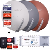DUR-line Select75/80 + MS5/12 + +Ultra Quattro LNB