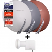 DUR-line Select 75/80 + UK 124 LNB - Einkabel Set