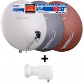 DUR-line Select 85/90 + UK 124 LNB - Einkabel Set