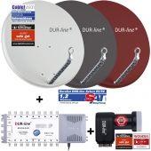 DUR-line Select75/80 + MS5/16 + +Ultra Quattro LNB
