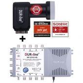 DUR-line MS-S 5/8-Q - Multischalter Set 8 Teilnehmer