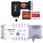 DUR-line MS-S 5/12-Q - Multischalter Set 12 Teilnehmer
