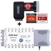 DUR-line MS-S 5/16-Q - Multischalter Set 16 Teilnehmer