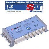 DUR-line MS 5/12 Blue ECO - Multischalter 1 SAT / 12 Teilnehmer