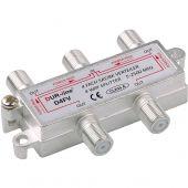DUR-line D4FV - SAT/BK-Verteiler 4fach