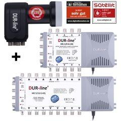 DUR-line MS-S 5-Q - Multischalter Set