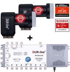 DUR-line MS-S 9/8-2Q - Multischalter Set
