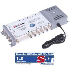 DUR-line MS 5/12 G-HQ - Multischalter 12 Teilnehmer