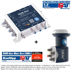 DUR-line MS-S Blue ECO - Multischalter Sets