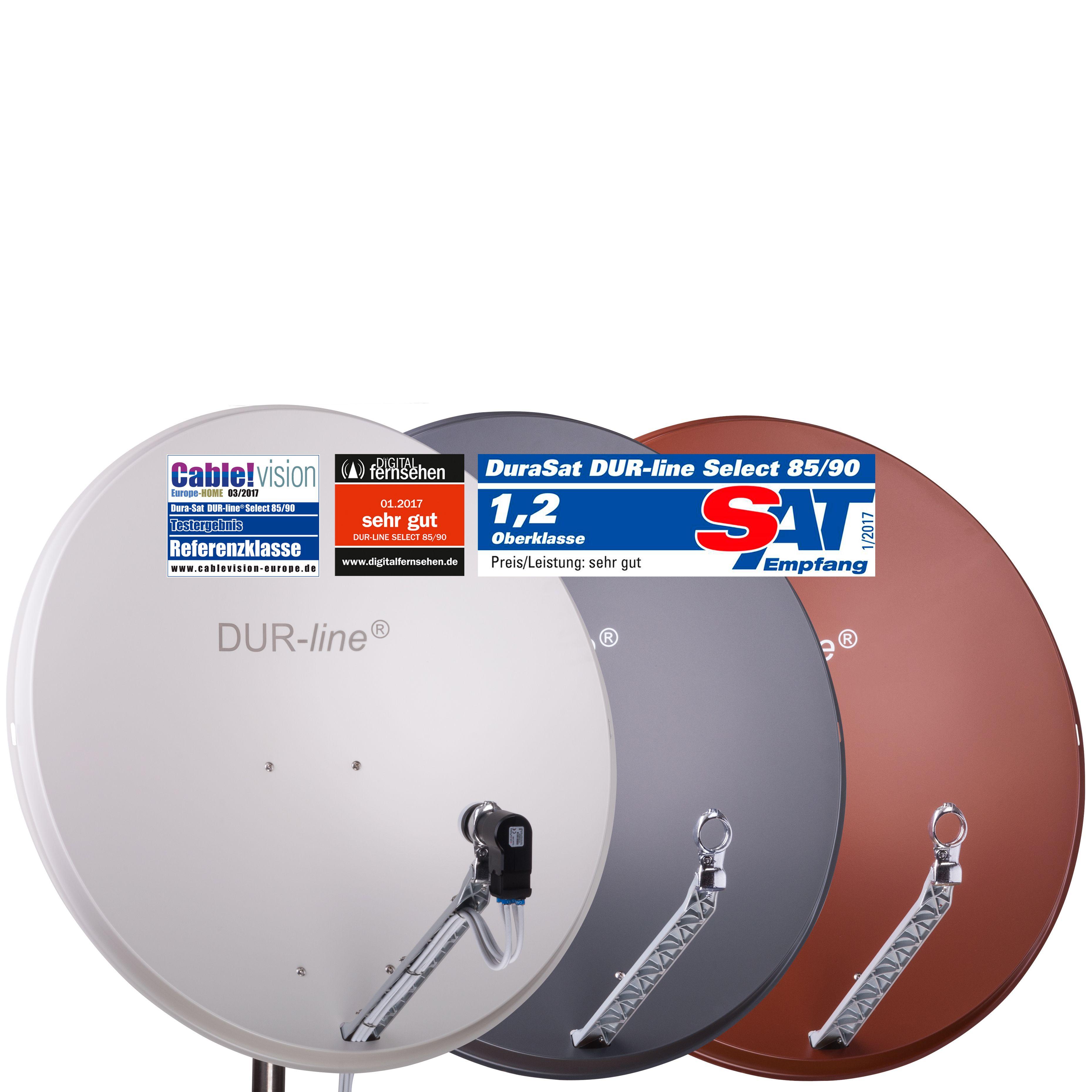 DUR-Line Select 85/90 - Alu Sat-Antenne