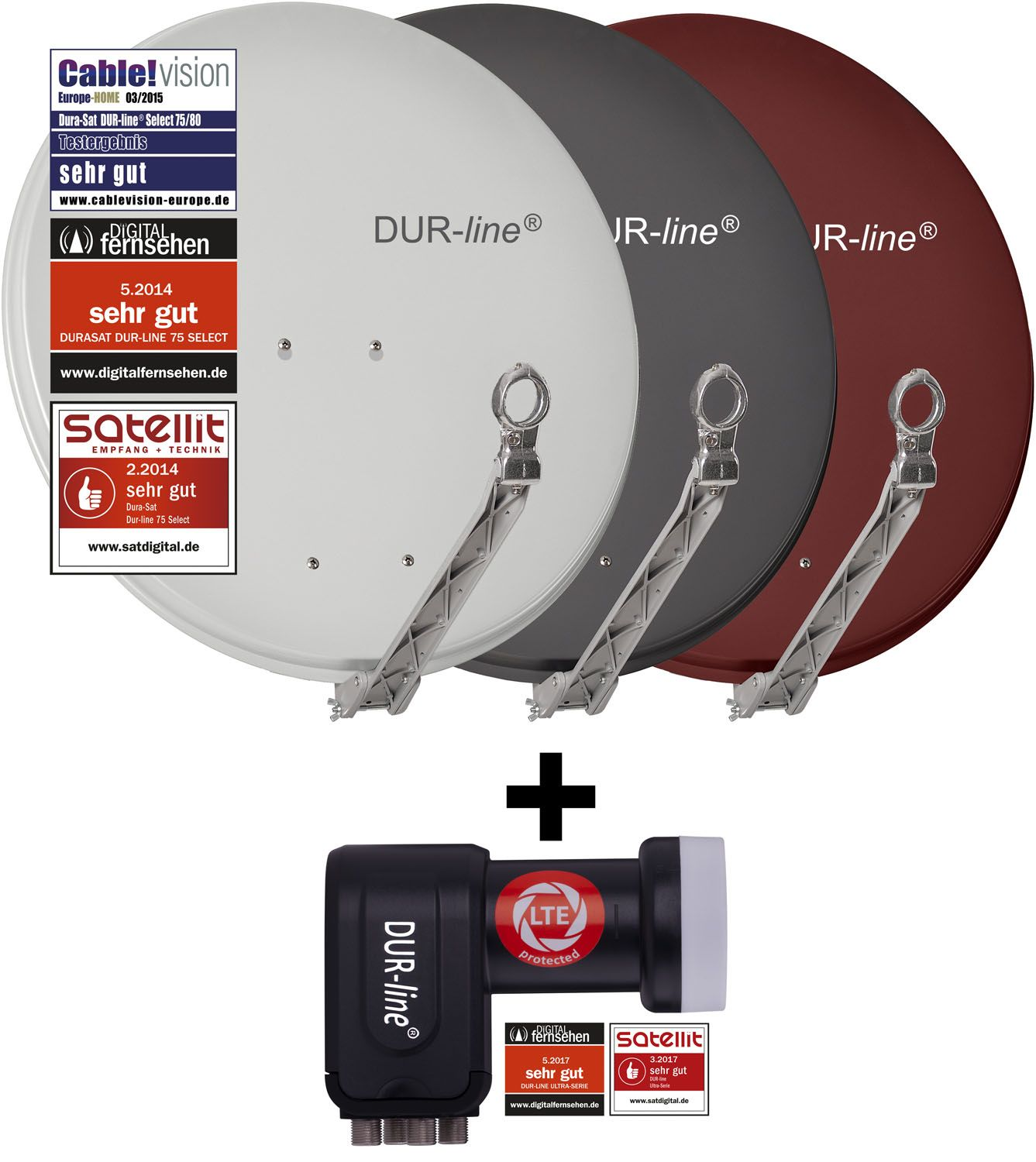 DUR-line Select 75/80 + +Ultra Quad LNB