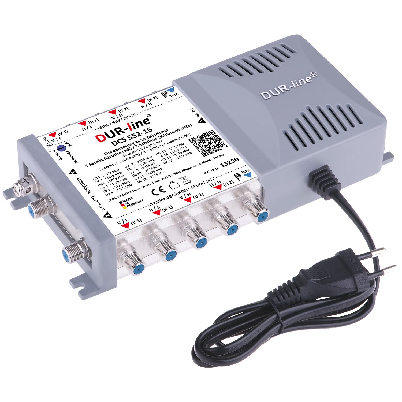 DUR-line DCS 552-16 - Einkabellösung