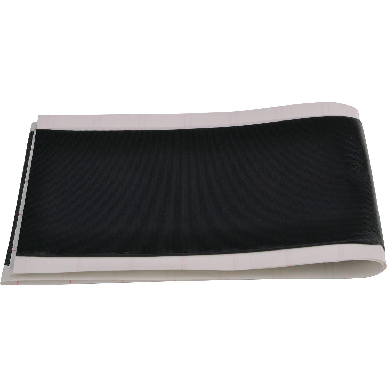 DB 600x80mm Schwarz - Dichtungsband schwarz