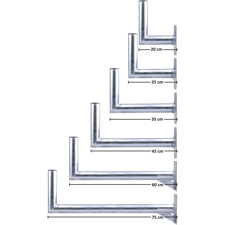 DUR-line WHSF - Stahl-Wandhalter