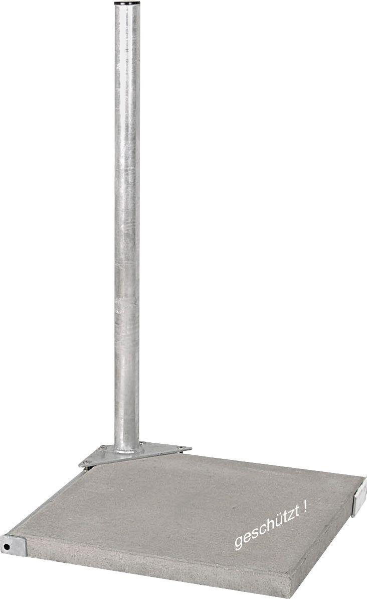 DUR-line Herkules 1PL feuerverzinkt - 1-Plattenständer für 1 Platte