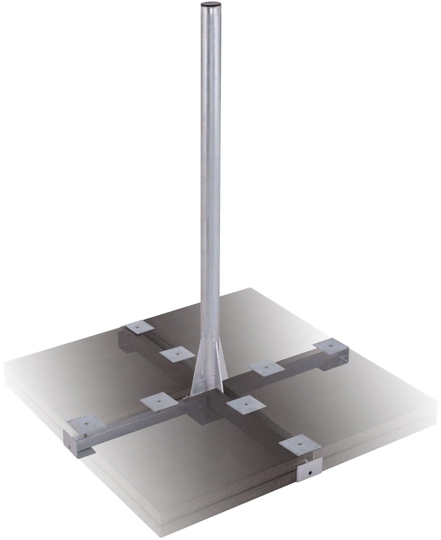 DUR-line Herkules 8PL XL 1,2m - 8-Plattenständer Mast 1,2m