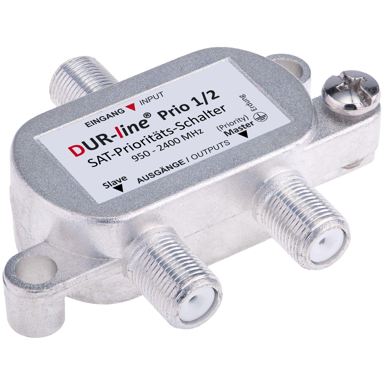 DUR-line Prio 1/2 - SAT-Prioritäts-Schalter