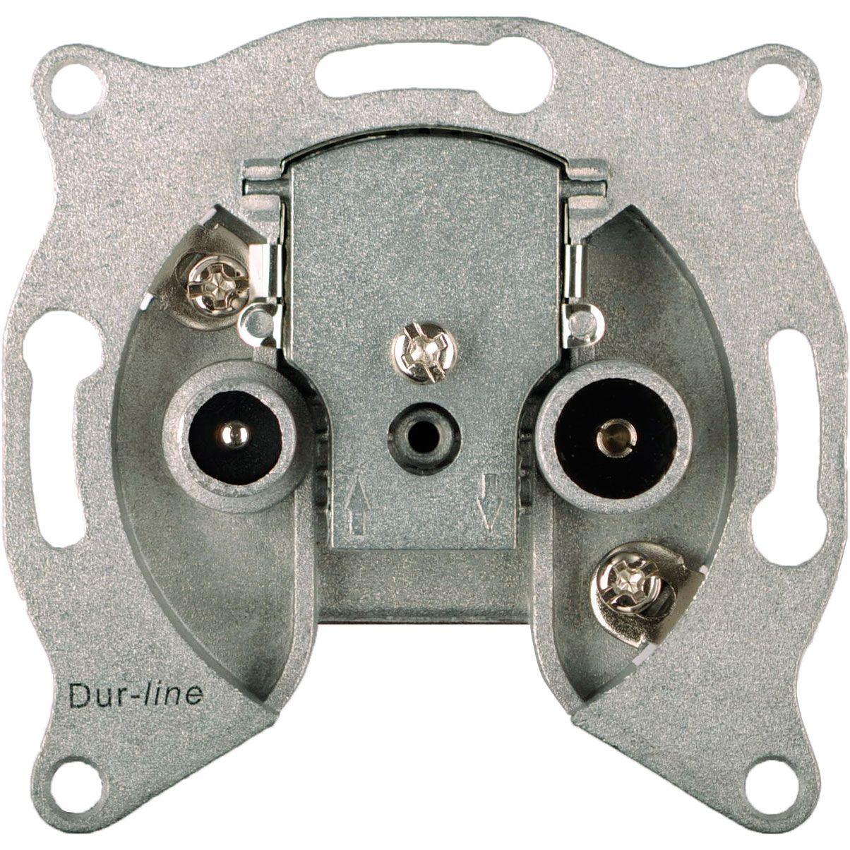 DUR-line DBK 08dB - BK-Durchgangsdose 8 dB Durchgangsdose
