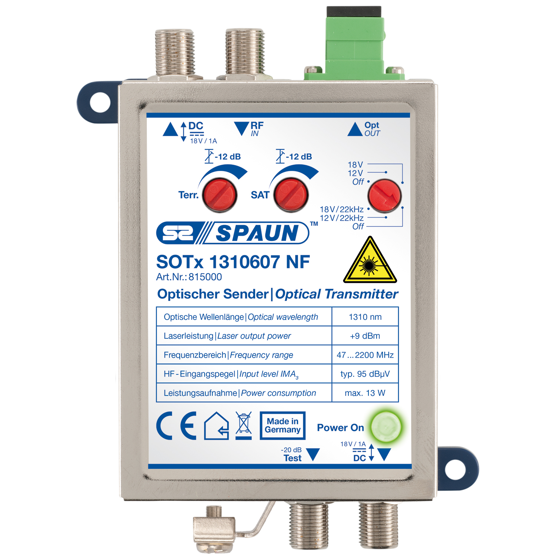 Spaun SOTx 1310607 NF - Optischer Sender 1310nm