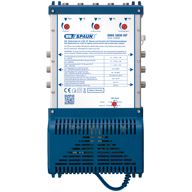 Spaun SMS 5606 NF - Multischalter
