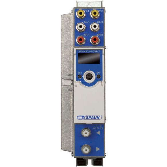 Spaun VAM 420 NG DVB-T - AV-Modulator DVB-T