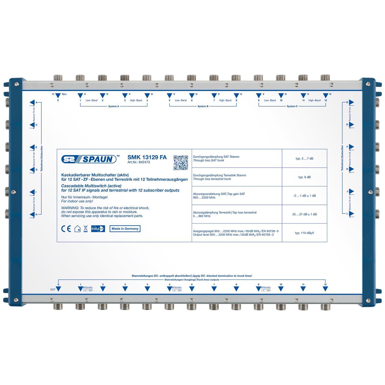 Spaun SMK 13129 FA - Multischalter