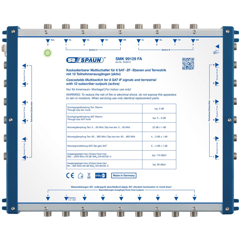 Spaun SMK 99129 FA - Multischalter