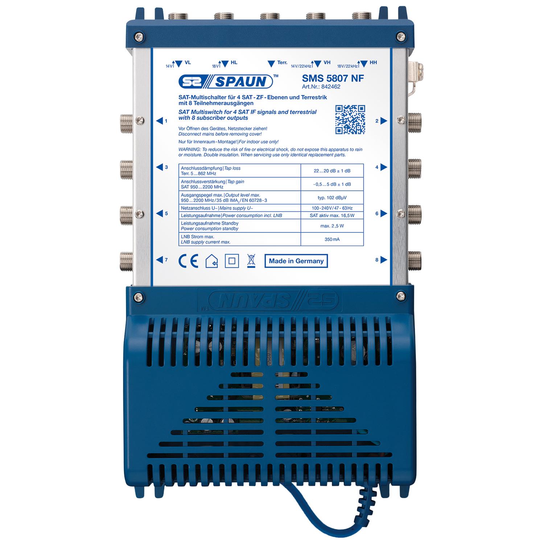 SPAUN SMS 5807 NF - Multischalter